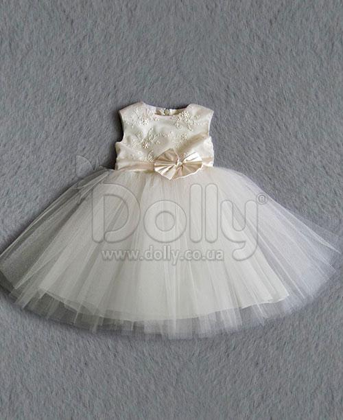 Платье Далида бежевое