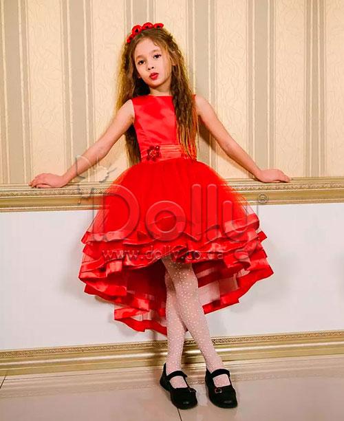 Платье Альма красное