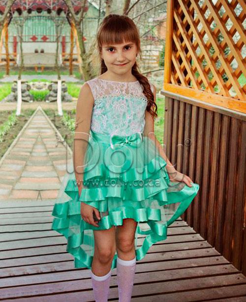 Платье Александри бирюзовое