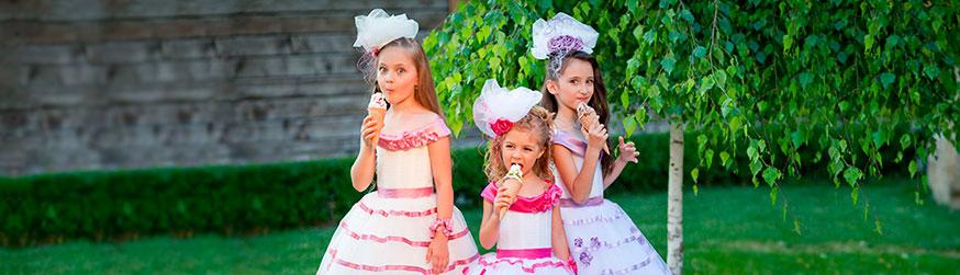 Категория Детские бальные платья фото