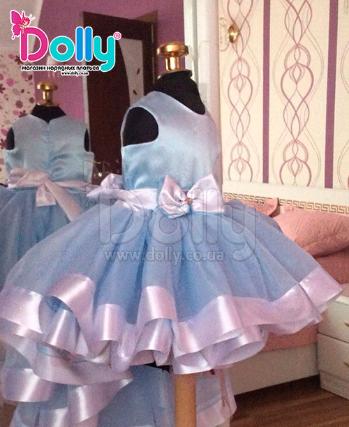 Платье из фатина на выпускной в детский сад своими руками 66