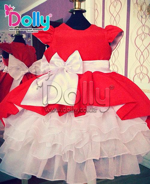 Как сшить пышное платье на годовалую девочку 39