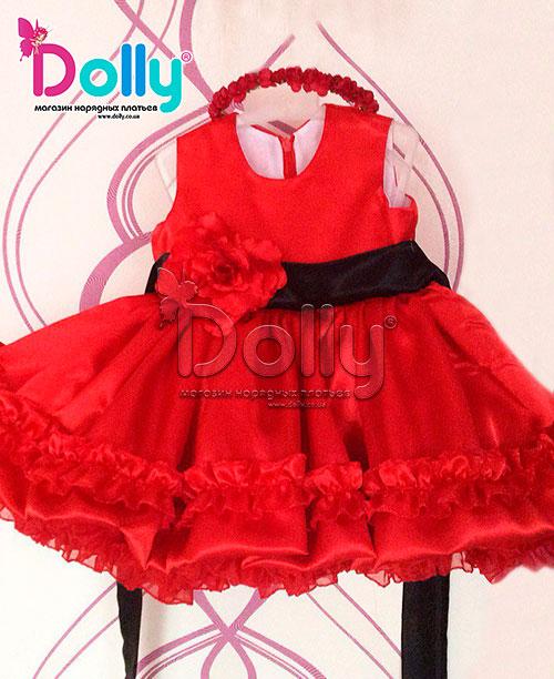 Dolly.co.ua   Платье Агна красное. Цена, купить Платье Агна красное ... 5ea49166ff8