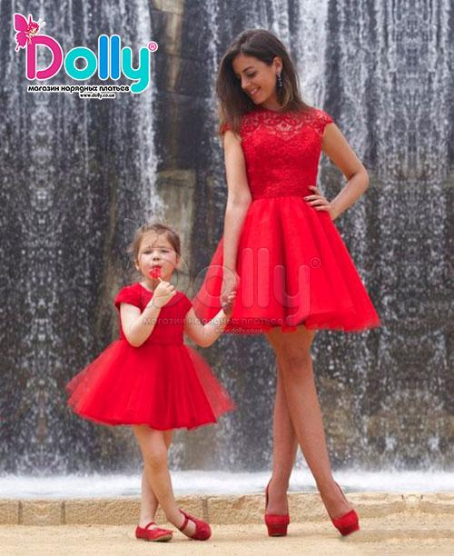 Dolly.co.ua   Платье Арте красное. Цена, купить Платье Арте красное ... fe1ae69b8d8